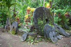 Stone money of Yap island