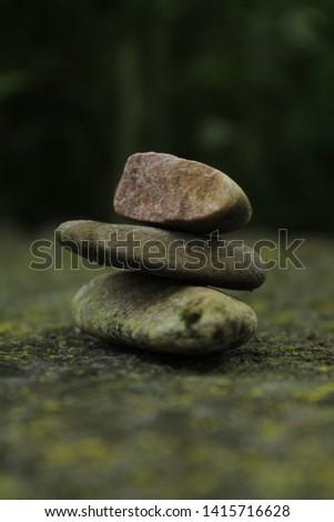 Stone on stone on stone #1415716628