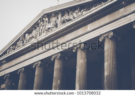 Stone Pillars Columns