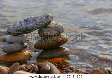 Stone pyramid