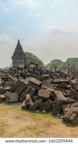 stone ruins of the ancient kingdom
