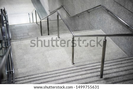 Stone stairs walkway stairs indoor and background