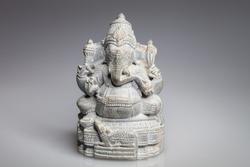 stone statue of the Hindu god Ganesha