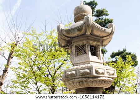 stone temple japan #1056114173