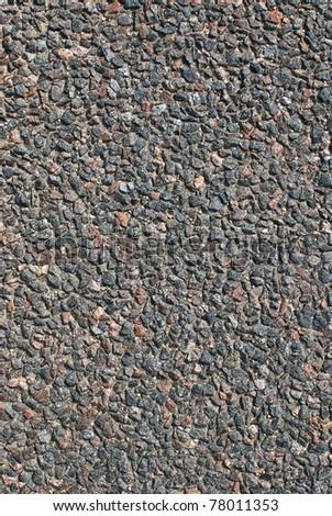 Stone texture, asphalt background close up