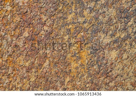 Stone texture, The texture of stone wall corrosion or rust stone texture use for stone background #1065913436