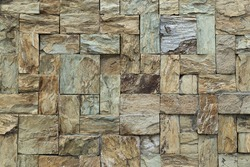 Stone tile textured wall background