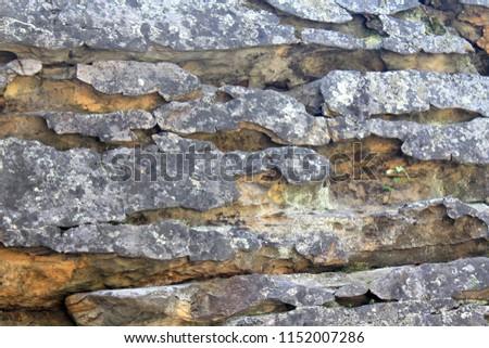 Stone Town Perm Region Ural Mountains Russia #1152007286