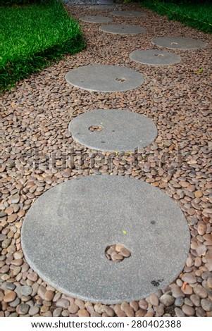 Stone walkway #280402388
