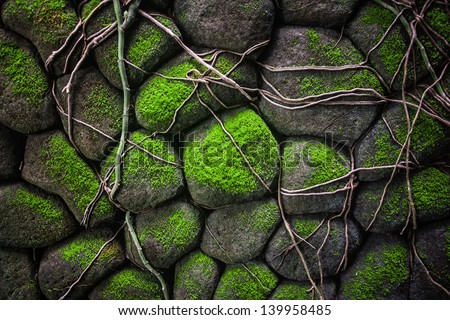 Stone wall #139958485