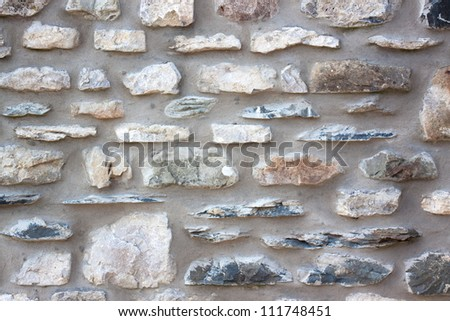 Stone wall detail background
