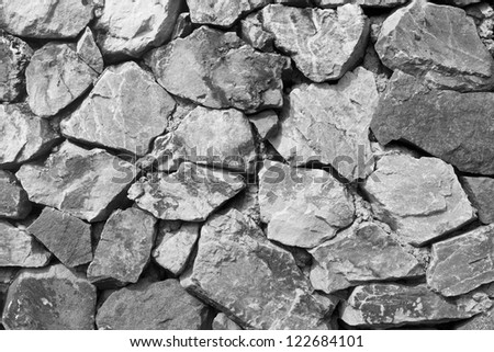 Stone wall  texture.
