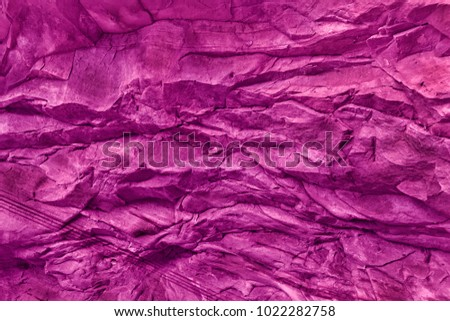 Stone Wall Texture And Background In Pink Tone #1022282758