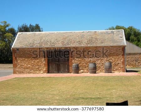 Stone Winery Shed