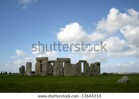 Stonehenge, a world heritage site in Wiltshire (England)