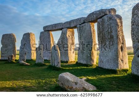 Stonehenge at Dawn Inside the Circle