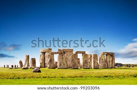 Stonehenge, England. UK - stock photo
