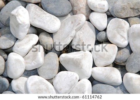 stones - abstract background with round peeble