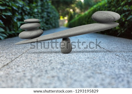 Stones Balancing concept #1293195829