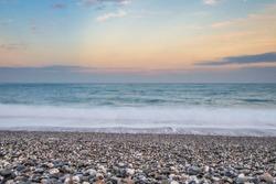 stones beach in hualien city taiwan