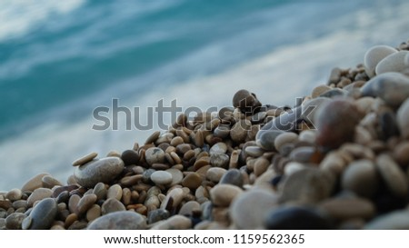 Stones in the beach #1159562365