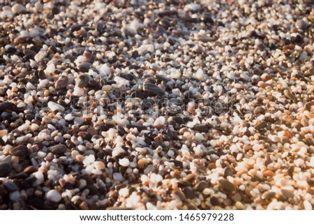 Stones on a background of a sea wave. Background stones and wave. Sea wave. Galichny beach. #1465979228