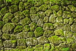 Stones pitching wall ,Stone wall pattern
