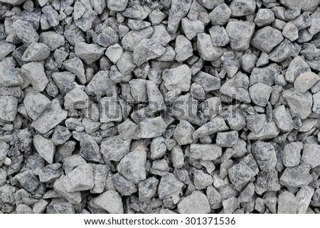 stones, rocks set isolated on white background