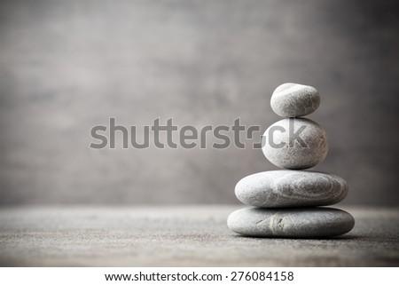Stones spa treatment scene, zen like concepts.