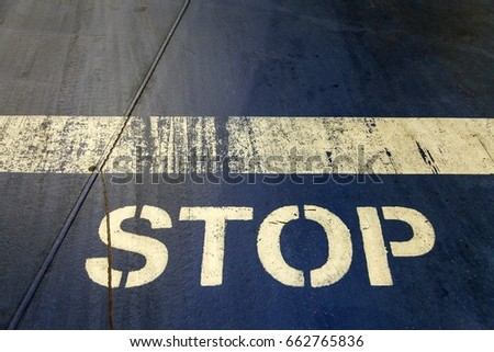 STOP  #662765836