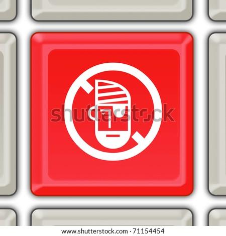 stop piracy button