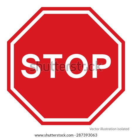 Stop Sign #287393063