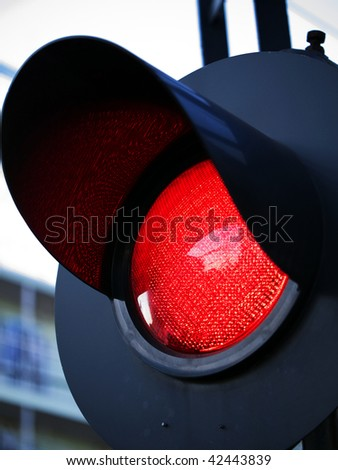 Stoplight of grade crossing