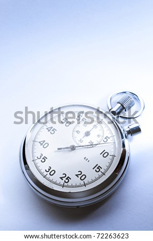 Stopwatch isolated