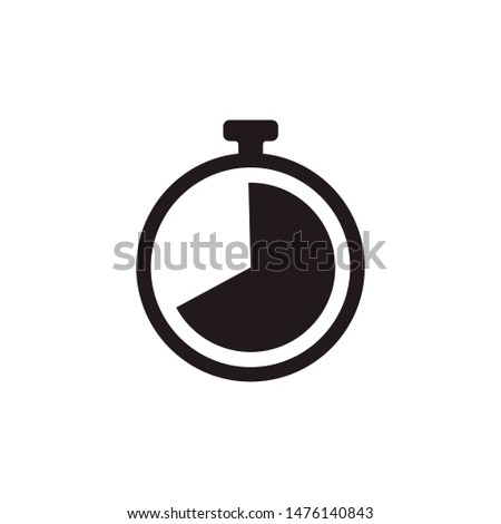Stopwatch Timer Icon Illustration timer