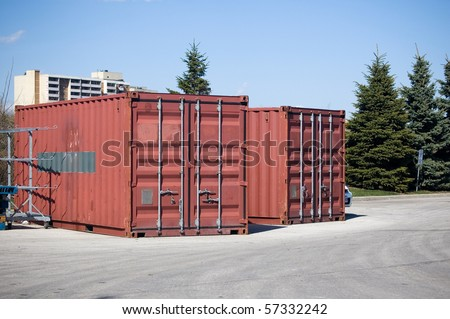 storage box , facility background