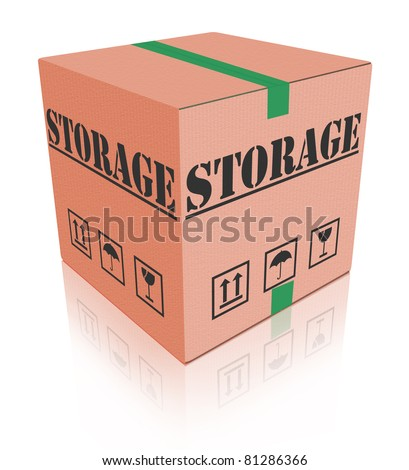 storage cardboard box keep important thing safe
