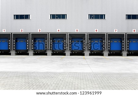 Storage entrances
