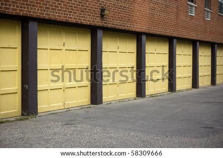 storage facility background