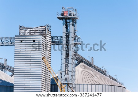 Storage facility cereals and production of bio gas; silos and drying towers #337241477
