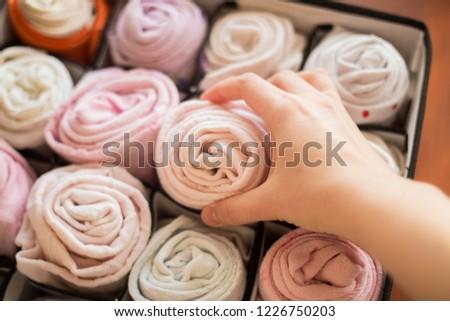 storage of things girls #1226750203