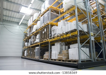 store-house in factory