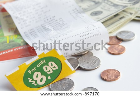 Store receipt and coupon