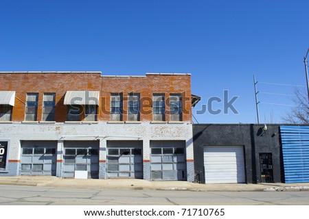 Storefront business garage stock photo 71710765 shutterstock for Opening a storefront business