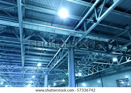 Storehouse toned in the blue color