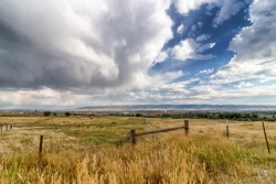 Storm Approaching Casper Mountain