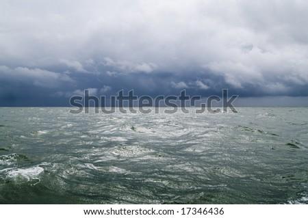 Storm at Sea #17346436
