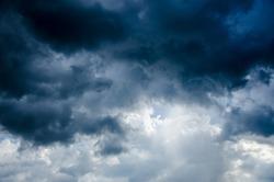 storm cloud background before rain