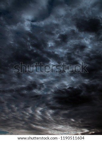 storm clouds dark