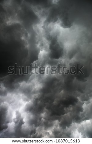 Storm clouds sky background wallpaper #1087015613